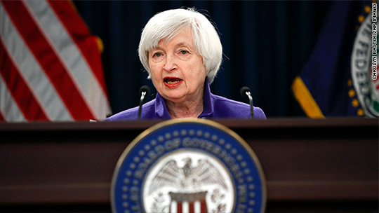 Fed chair calls bitcoin 'highly speculative'