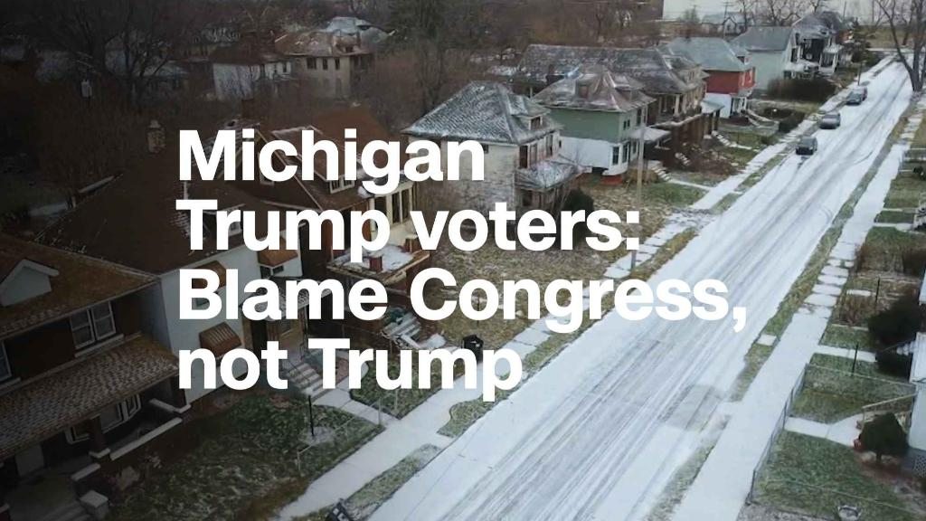 Michigan's Trump voters, a year later