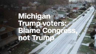 Michigan Trump voters: Blame Congress, not the president