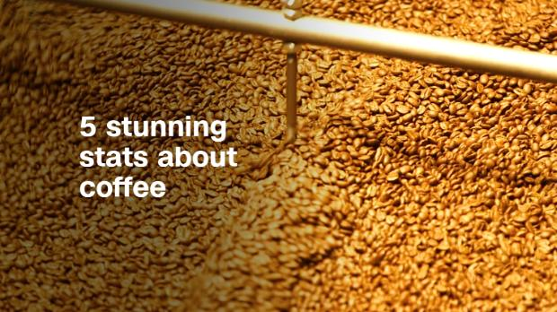 5 stunning stats about coffee