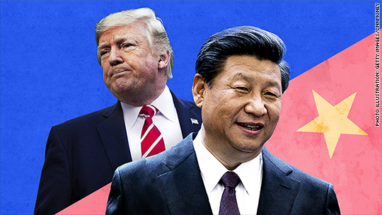 'Trump and China: 2018 could get nasty' from the web at 'http://i2.cdn.turner.com/money/dam/assets/171219101053-trump-xi-trade-540x304.jpg'