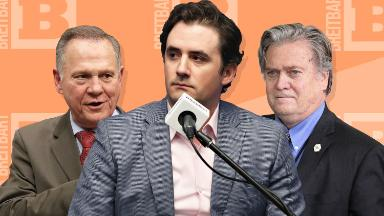 Breitbart went all out for Roy Moore. Now its top editor says he was a 'weak candidate'