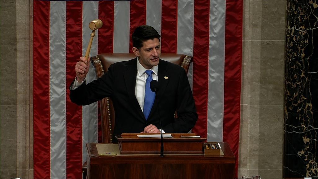 House passes GOP tax plan