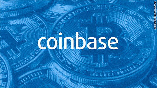 'Coinbase investigates possible insider trading' from the web at 'http://i2.cdn.turner.com/money/dam/assets/171220074940-coinbase-540x304.jpg'