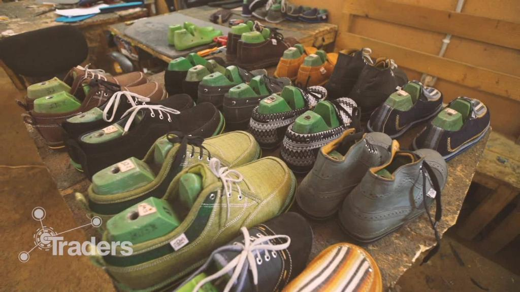 Shoes with an ethical footprint