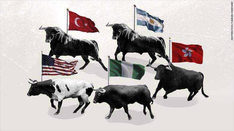 best stock markets 2017