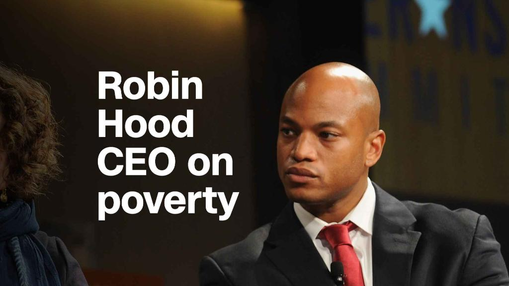 Robin Hood CEO: Putting America first means addressing poverty