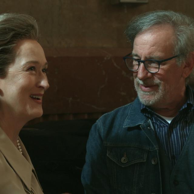 Spielberg: The press is under 'attack'