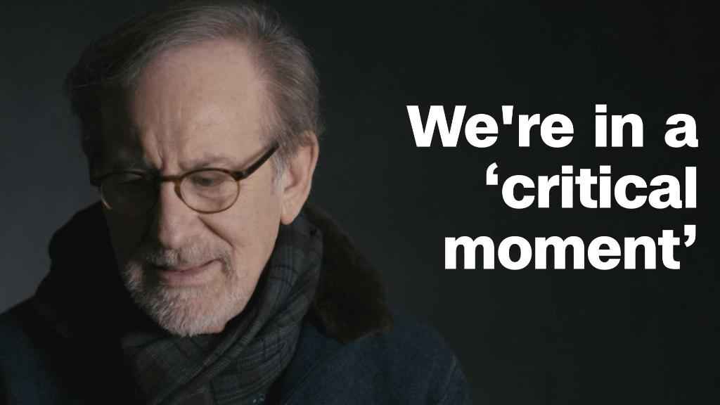 Spielberg: 'We're living in a very critical moment'