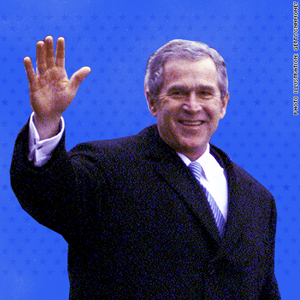 presidents first year wbush 2