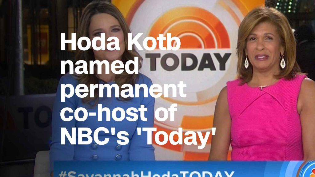 Hoda Kotb named permanent co-host of NBC's 'Today'?