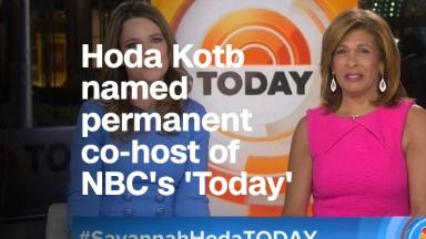 Hoda Kotb named permanent co-host of NBC's 'Today'