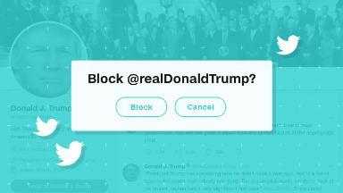 Twitter explains (again) why it won't block Trump