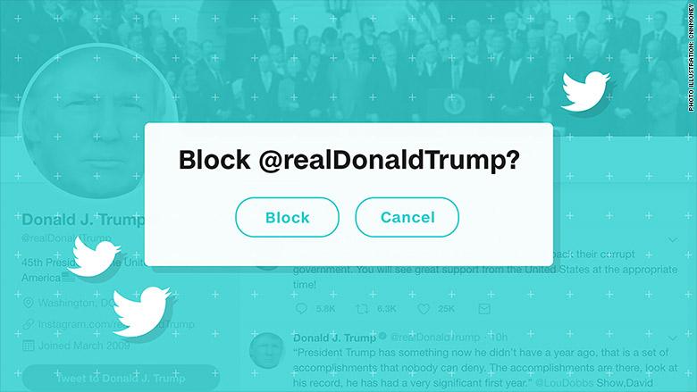 trump twitter block