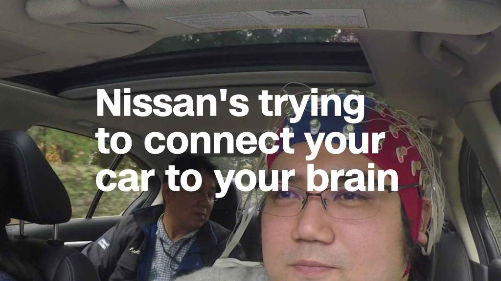 Nissan is trying to connect your car to your brain