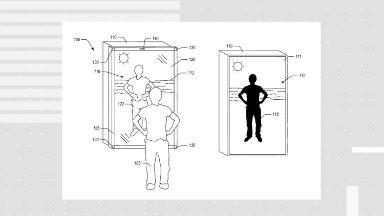 Amazon's smart mirror patent teases the future of fashion