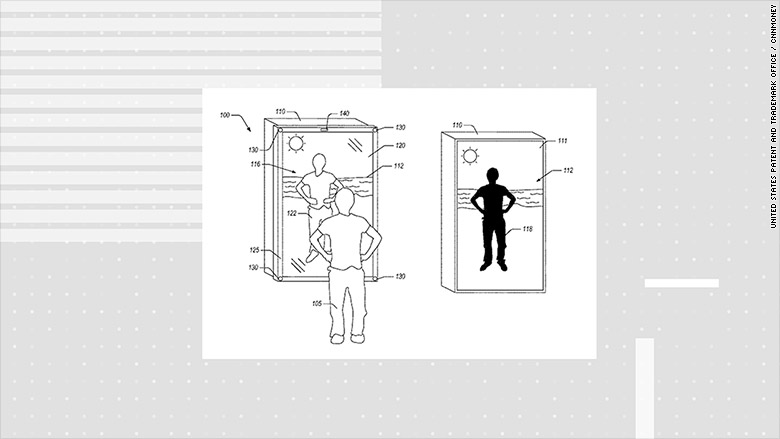 Amazon's smart mirror patent teases the future of fashion