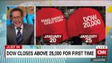 Dow hits 25k and sets TWO records