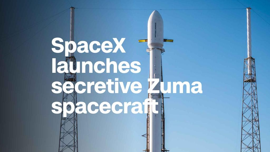 Image result for zuma spacex