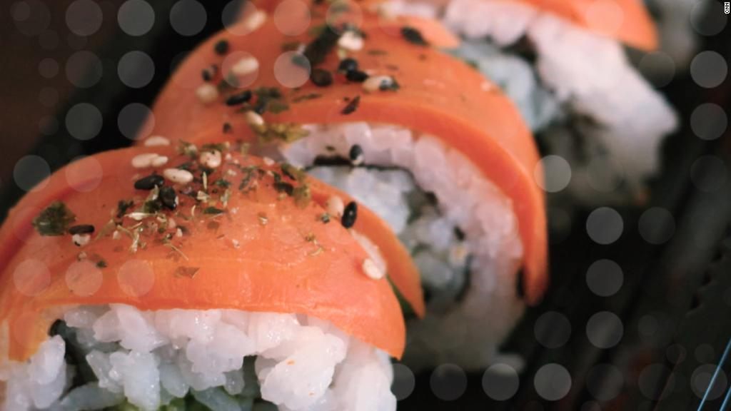 Tuna made from veggies?