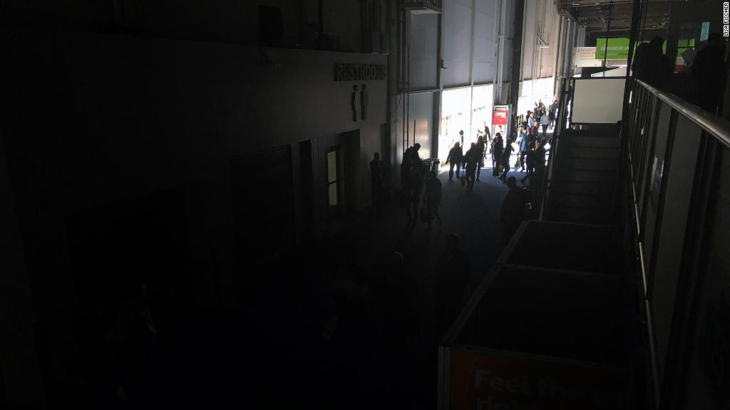 Blackout at CES, world's biggest tech conference