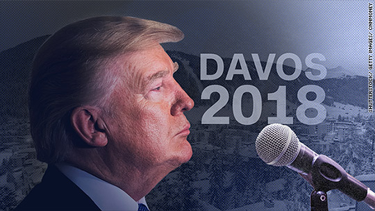 What Davos wants to hear from Trump