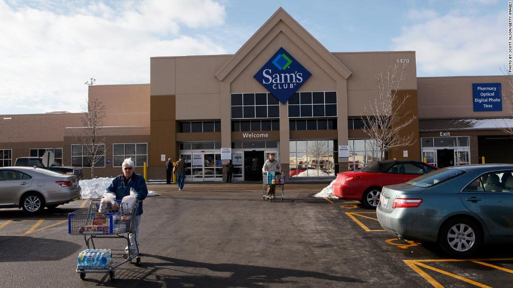 Walmart is closing Sam's Club stores