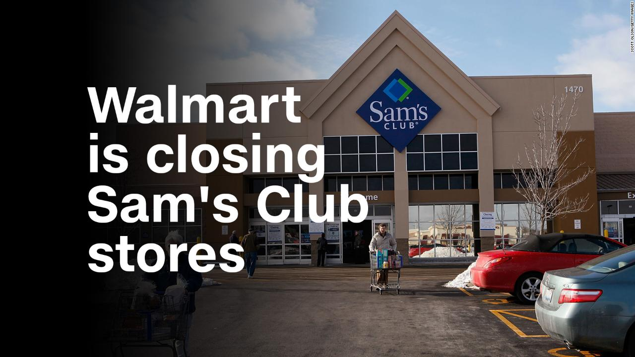 Walmart is closing Sam's Club stores - Video - Business News