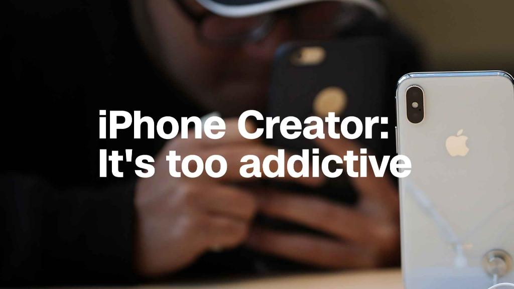 iPhone co-creator says phone's become too addictive