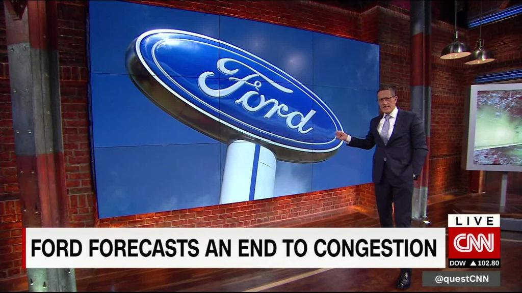 Ford CEO predicts an end to congestion