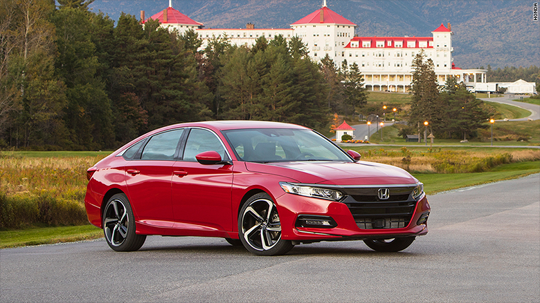 Car Of The Year Honda Accord Wins At The Detroit Auto Show - Accord vehicle