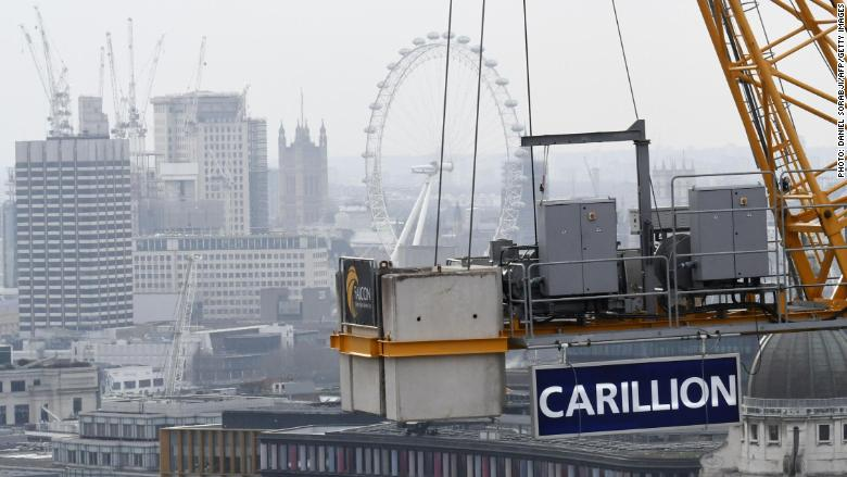 carillion uk construction