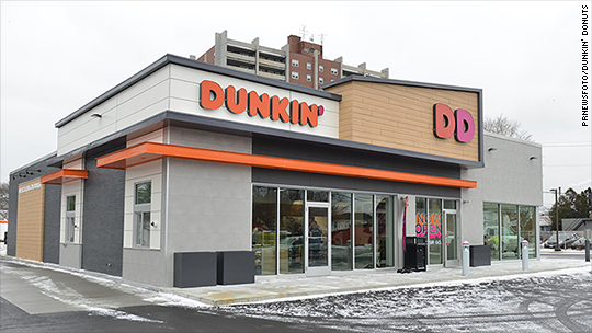 What new Dunkin' Donuts stores will look like