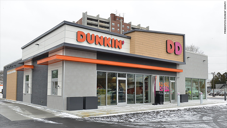 This is what the new dunkin donuts stores will look