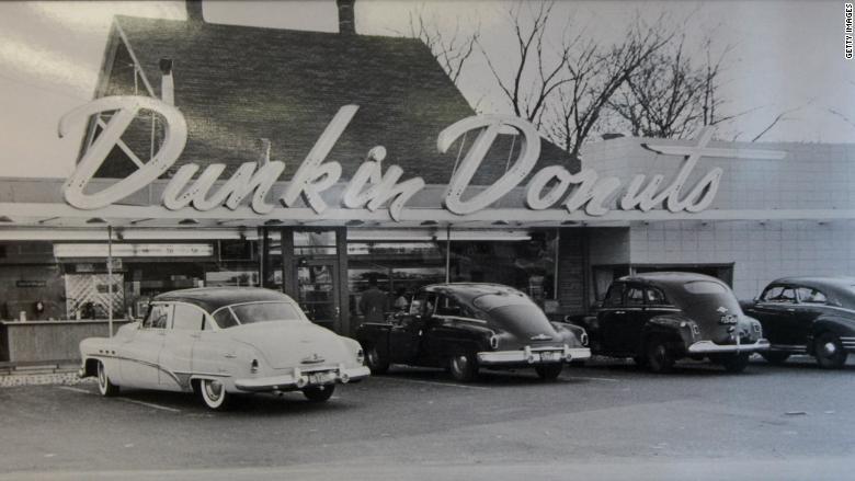 dunkin donuts historical