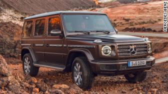 2019 Mercedes G-class front quarter