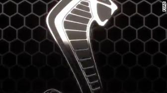 mustang gt500 badge