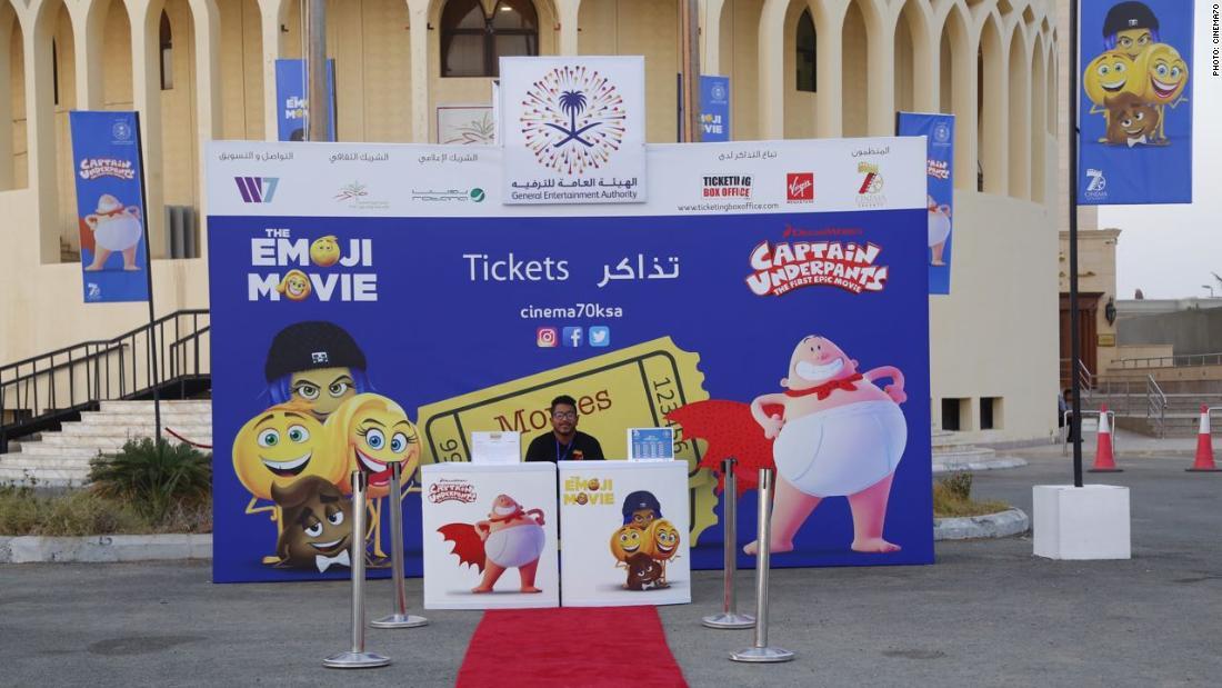 'Emoji Movie' and popcorn: The cinema experience returns to Saudi Arabia