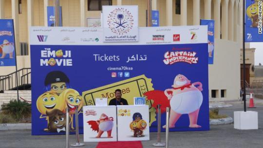 Emoji Movie and popcorn: The cinema experience returns to Saudi Arabia