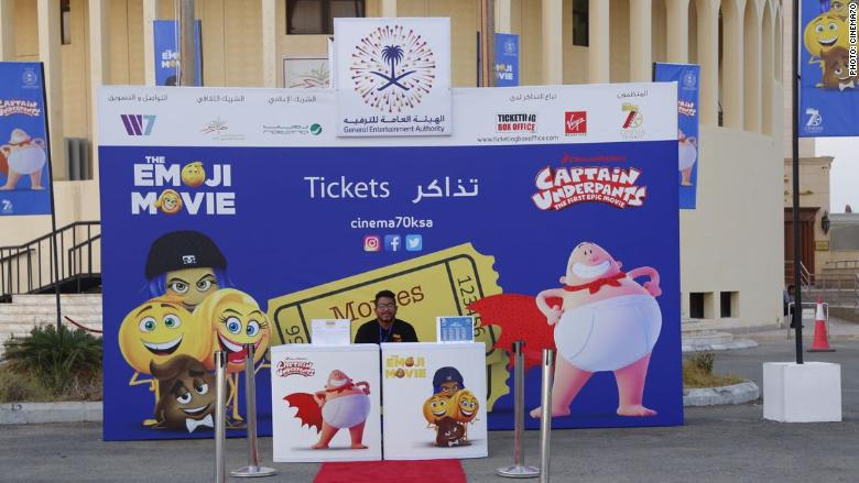 'Emoji Movie' and popcorn: The cinema experience returns to Saudi Arabia