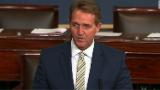 Watch Sen. Flake condemn Trump on Senate floor