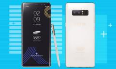 Samsung unveils special edition Galaxy Note 8 only for Olympians