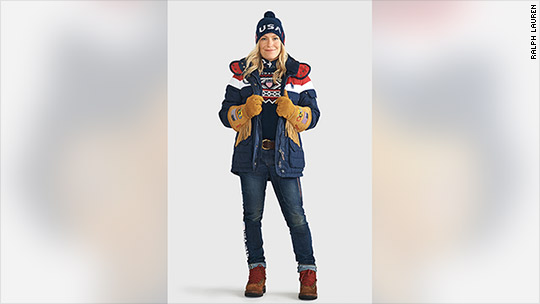 USA's Olympic uniforms are wearable heaters