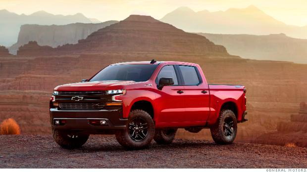 It's a showdown for pickup trucks