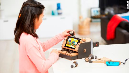 Nintendo's latest devices are made of cardboard