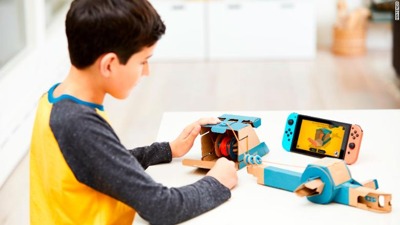 Nintendo's latest video game devices are made of cardboard