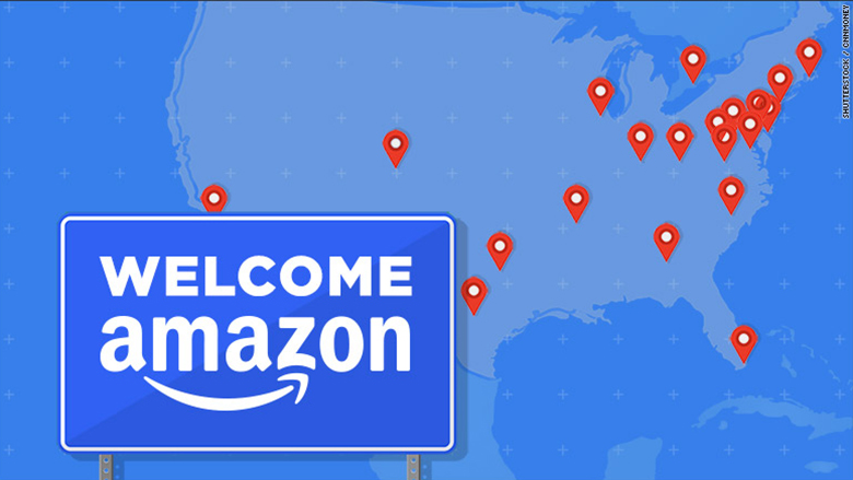 Amazon's 20 final cities: What you need to know