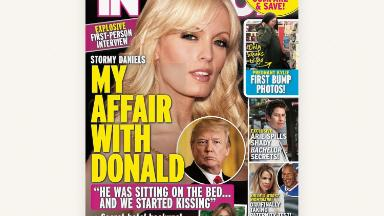In Touch's Stormy Daniels interview: The rare unflattering tabloid story for President Trump