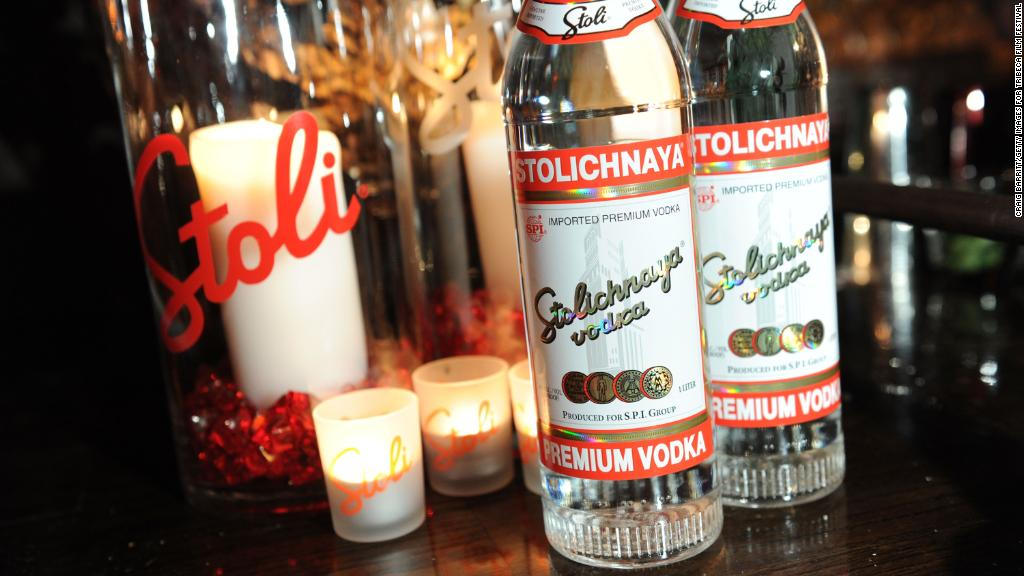 Russia wants its vodka back