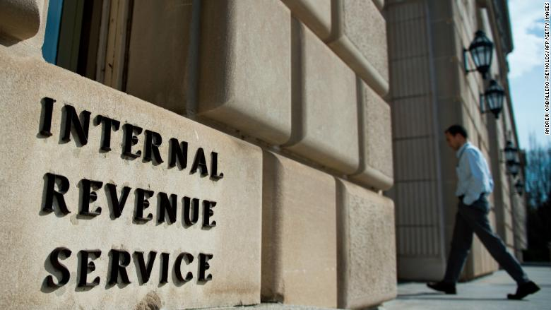 What's happening at the IRS during the shutdown